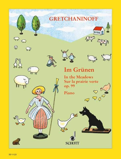 En los prados prados prados Op. 99 gretchaninow, Alexandr Piano 9790001032612 29dd2f